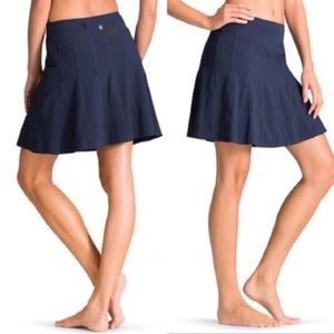 Athleta Wear About Skort Skirt Navy Blue A-Line 8